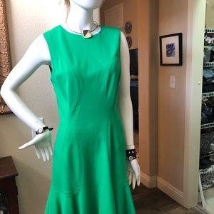 Diane von Furstenberg Green Dress Size 10